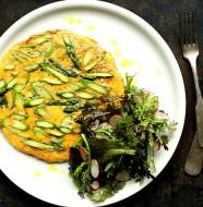 Omlet ze szparagami L_08
