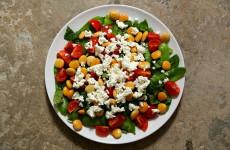 Salatka z lubinem L02