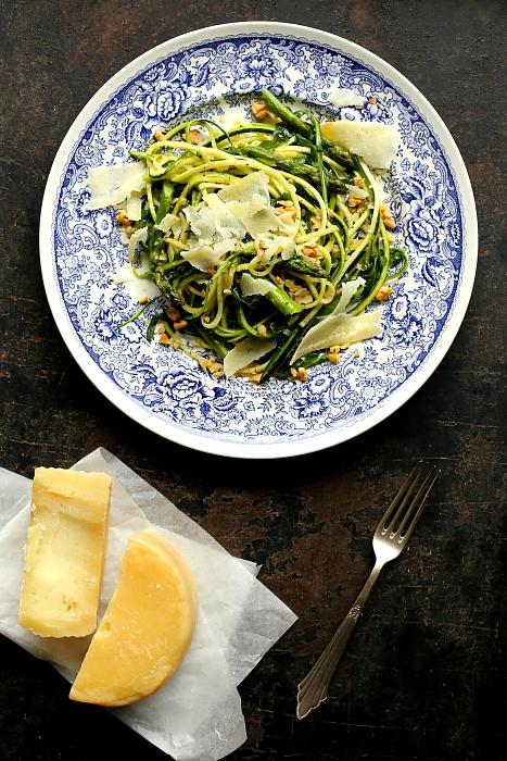 Spaghetti z cukinii szparagi L_07