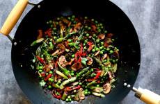 Stir fry z groszkiem L_10