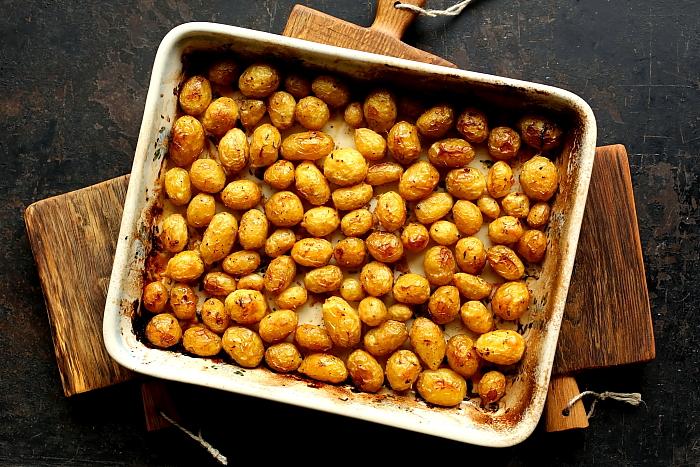 Pieczone ziemniaki cytrynowe