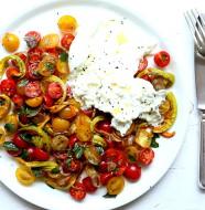 Burrata z pomidorami L_10