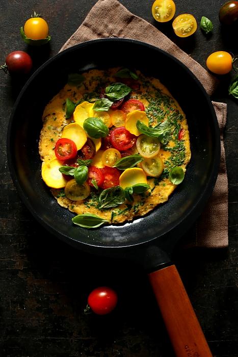Omlet jak bruschetta L_06