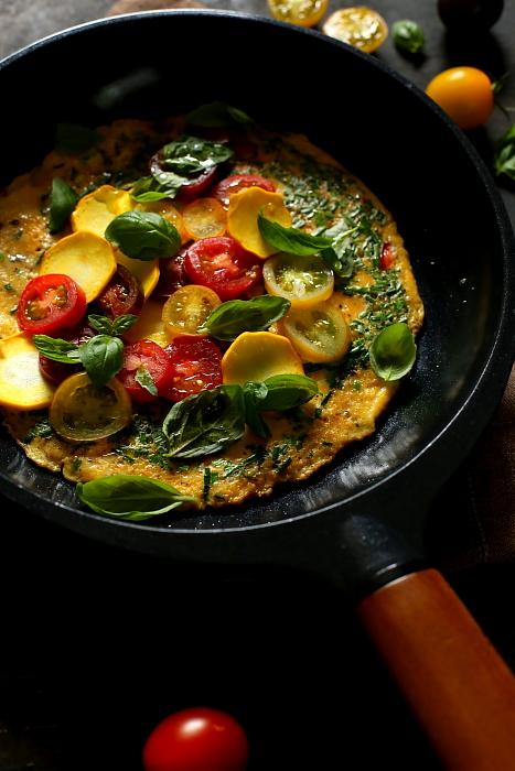 Omlet jak bruschetta L_07
