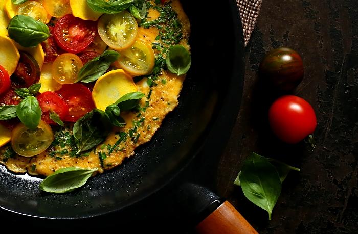 Omlet jak bruschetta L_11