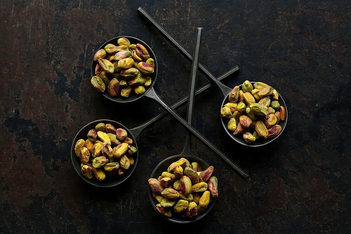 Panforte potrójnie czekoladowy z pistacjami