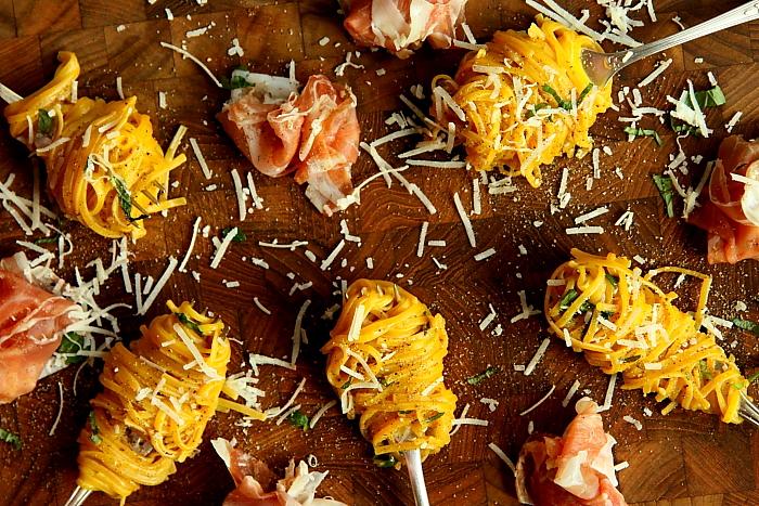 Spaghetti z prosciutto L_02