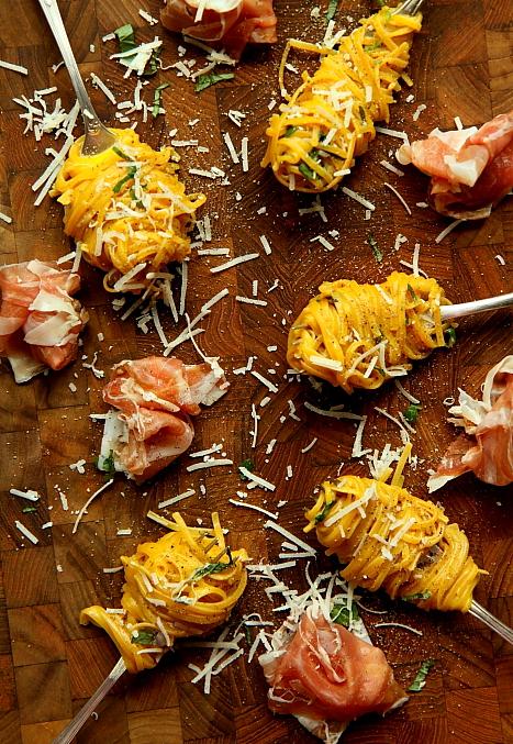 Spaghetti z prosciutto L_03