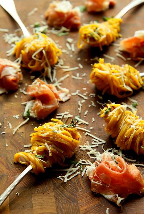 Spaghetti z prosciutto L_04