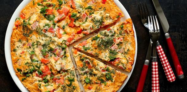 Omlet z dorszem i harissa L_06