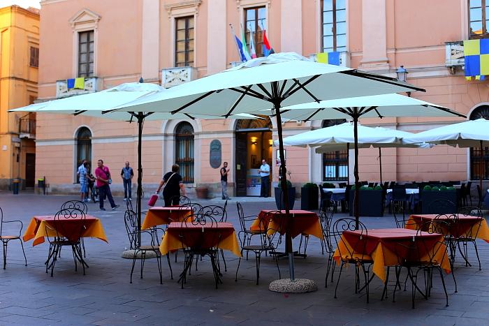 Sardynia - Iglesias - Piazza Quintino Sella