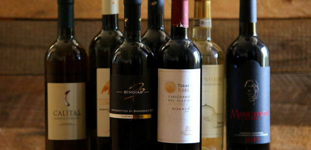 Wina z Sardynii – Facet i wino – XII