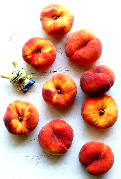 Carpaccio z brzoskwiń