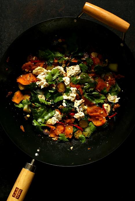 Warzywa z tofu