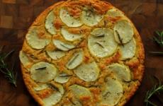 Farinata z ziemniakami