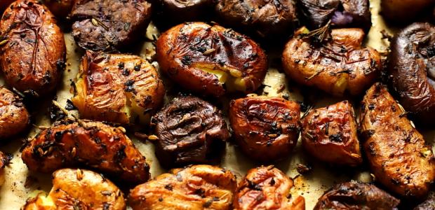 Ziemniaki pieczone z balsamico