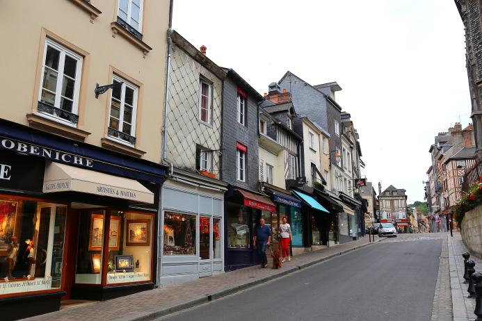 Honfleur i Deauville