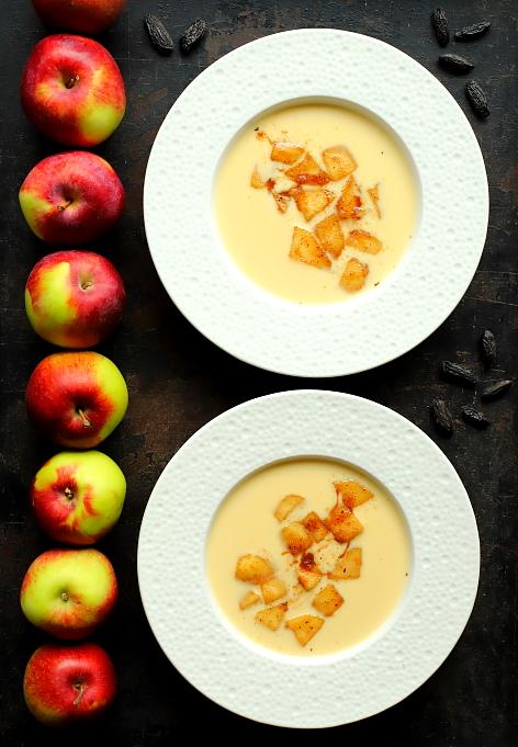 Zupa z cydru i calvadosu