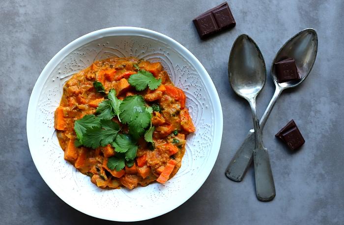 Curry z czekolada