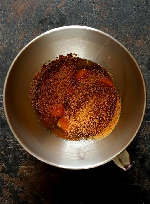 Ciasto bakaliowe pieczone w słoiku
