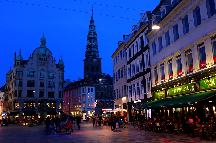Kopenhaga - kawiarnie