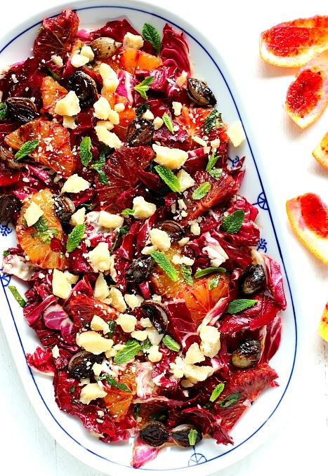 Salatka z radicchio