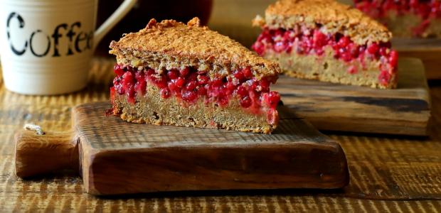 Ciasto porzeczkowe i dobre życie na bezglucie