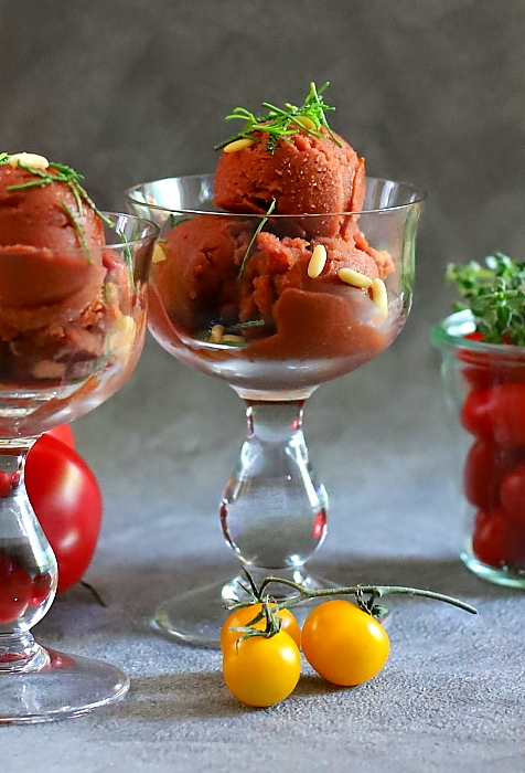 Lody pomidorowe