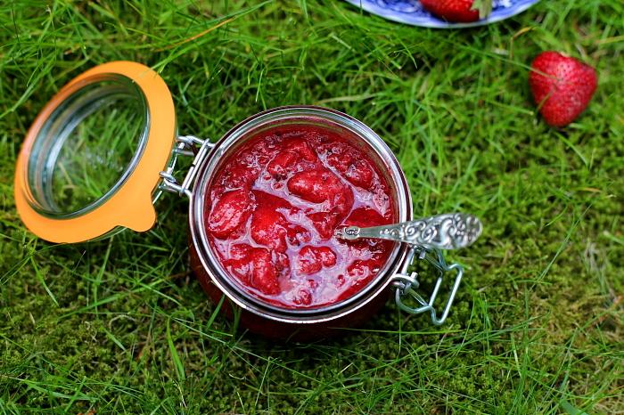 Chutney truskawkowy