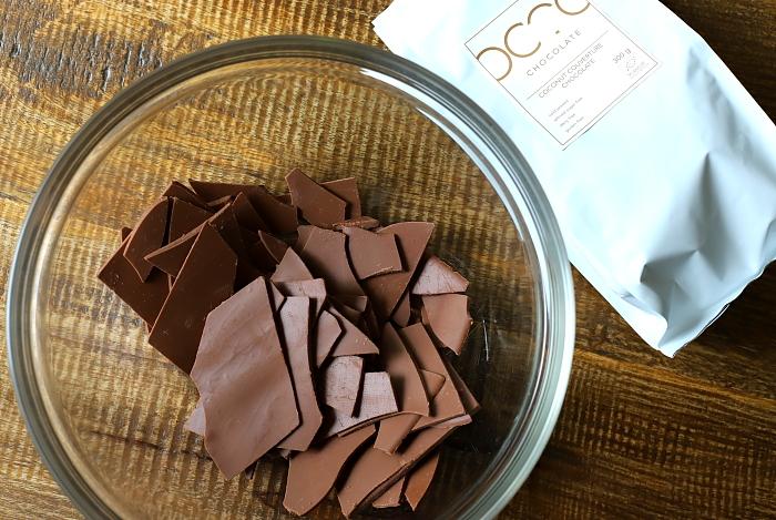 Sorbet z białej czekolady kokosowej