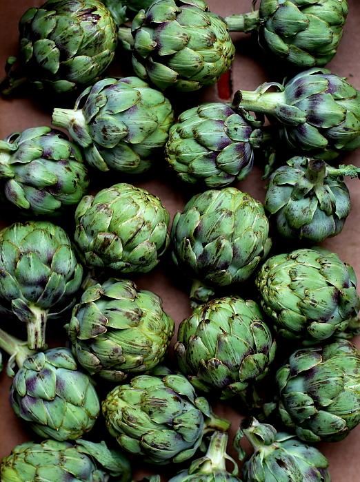 Karczochy marynowane w oliwie