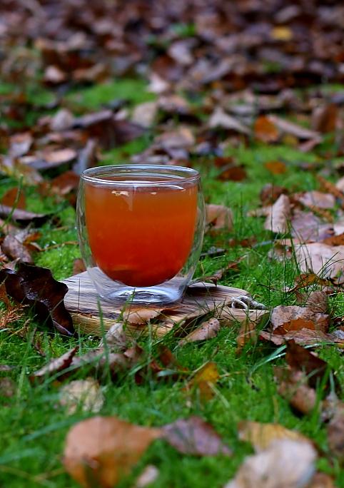 Herbata grejpfrutowa z imbirem