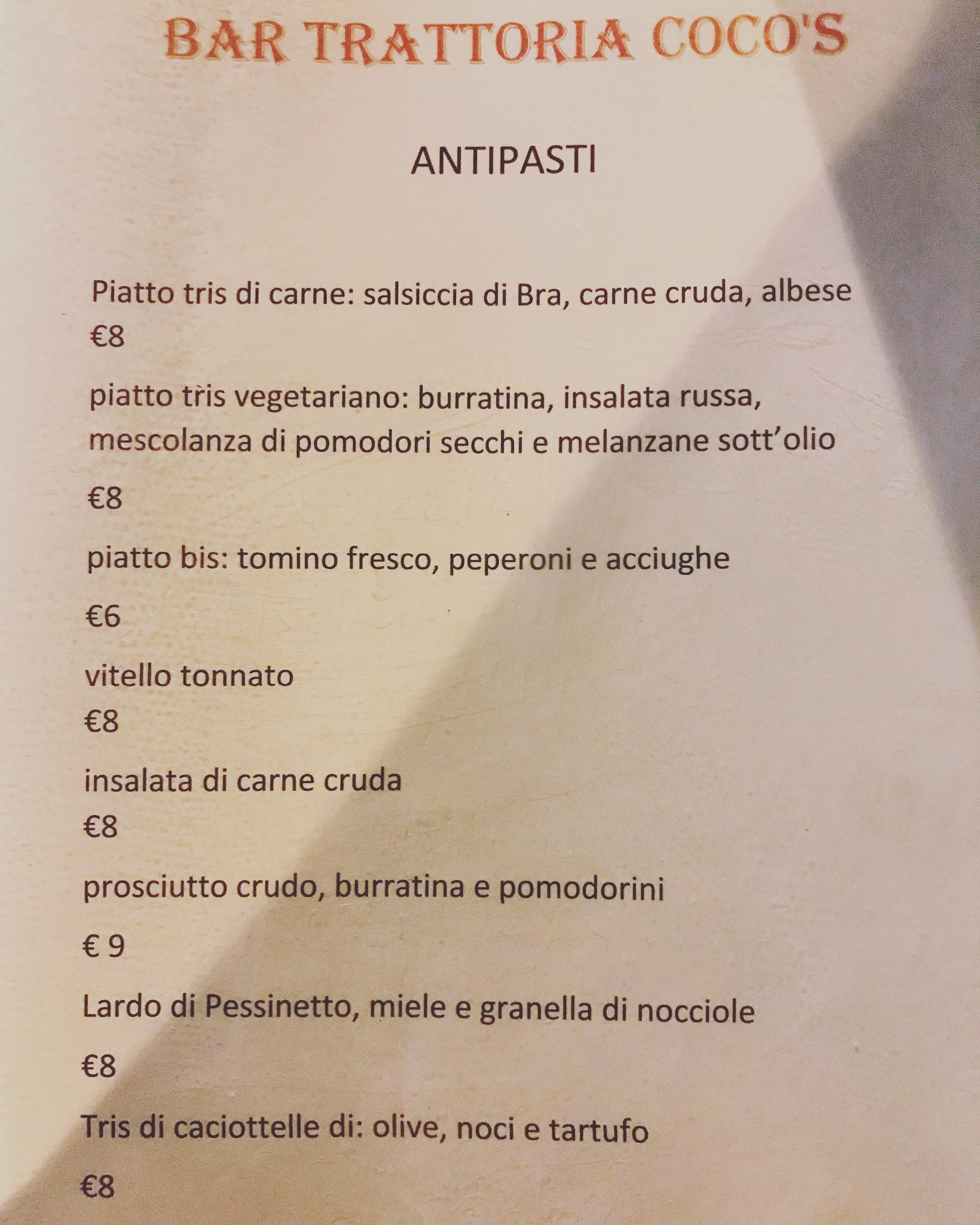 Trattoria Coco's