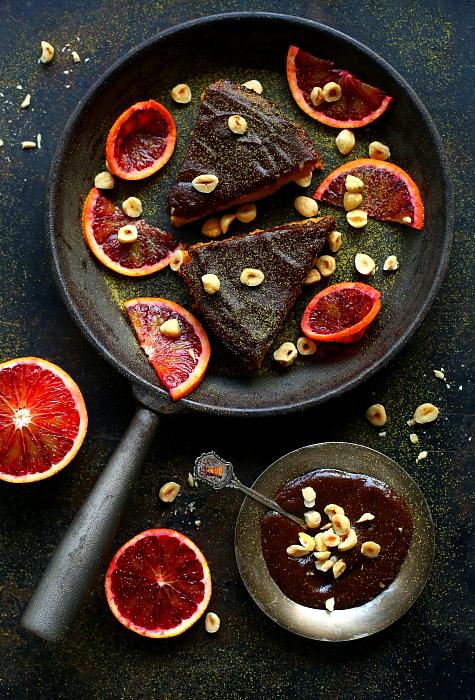 Ciasto pomarańczowo-miodowe