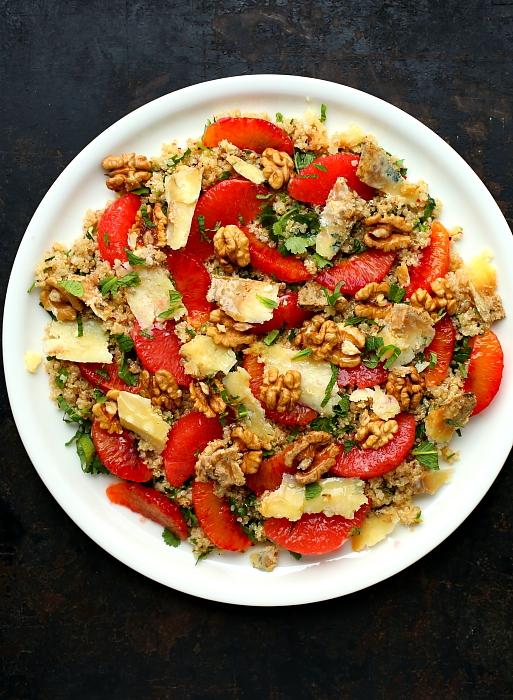 Sałatka z quinoa i cytrusów