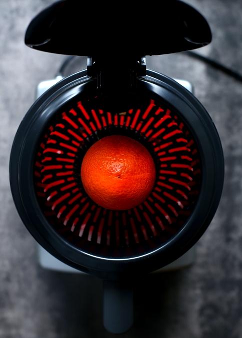 Marchewki w soku z pomarańczy