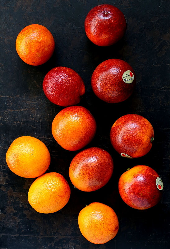 Sałatka z lardo i pomarańczy