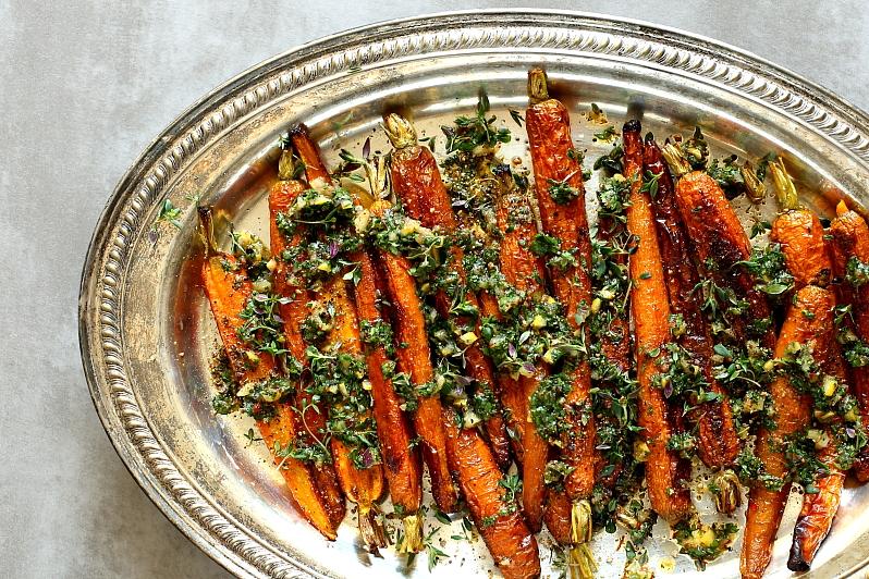 Pieczone marchewki