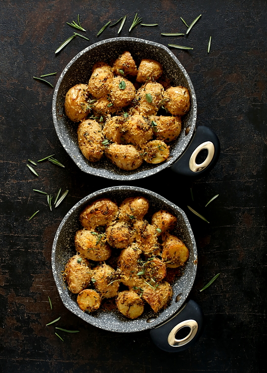 Ziemniaki pieczone z Parmigiano Reggiano