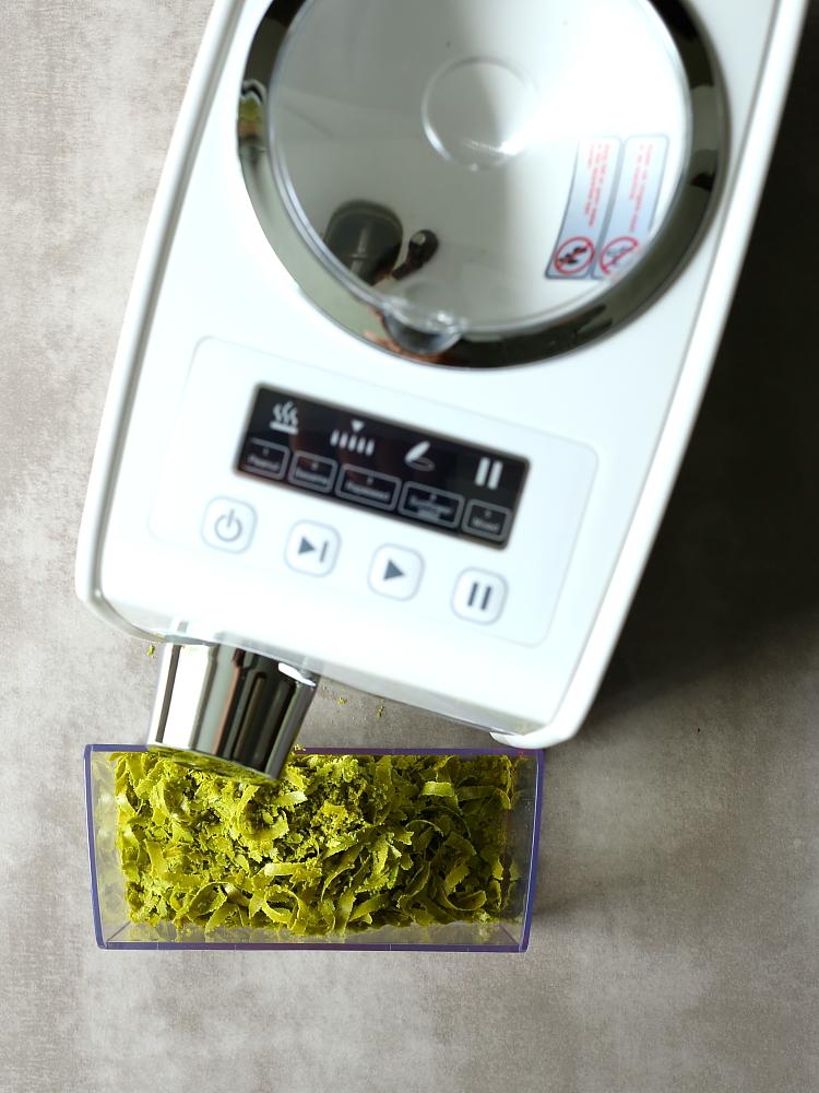 Grillowane warzywa z olejem z pistacji