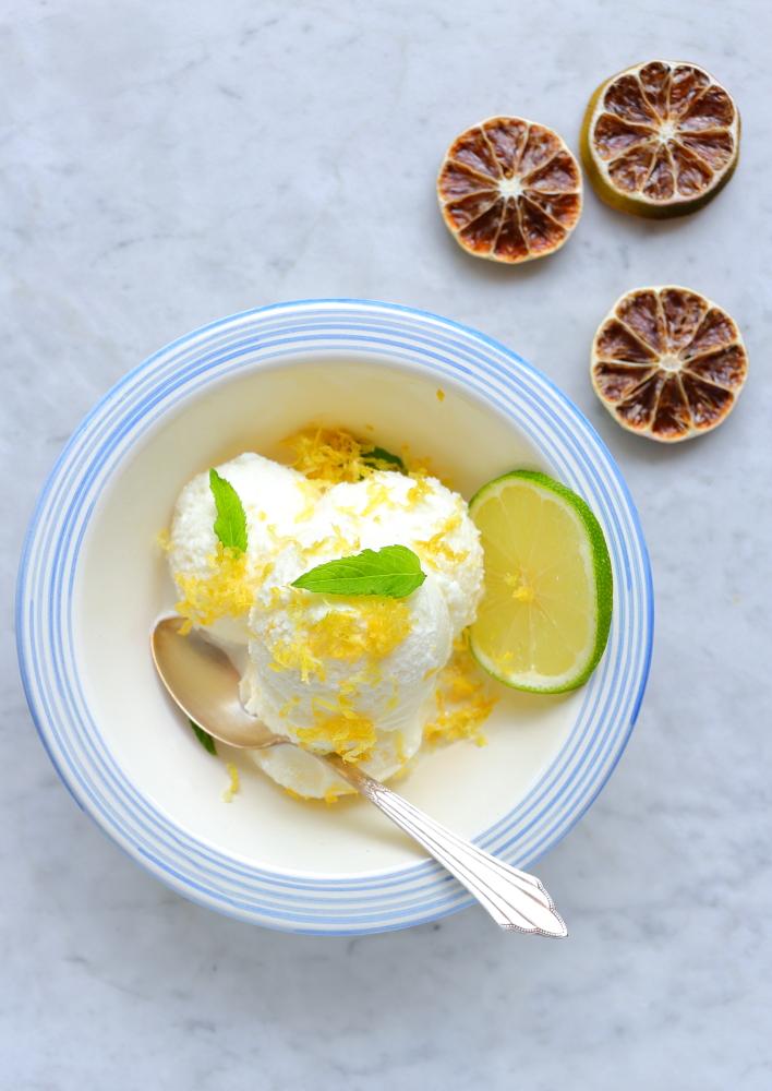 Lody cytrynowo-limonkowe