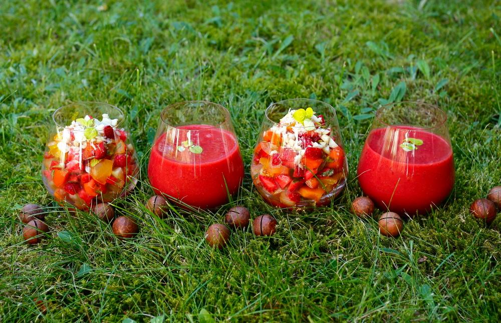 Gazpacho truskawkowe