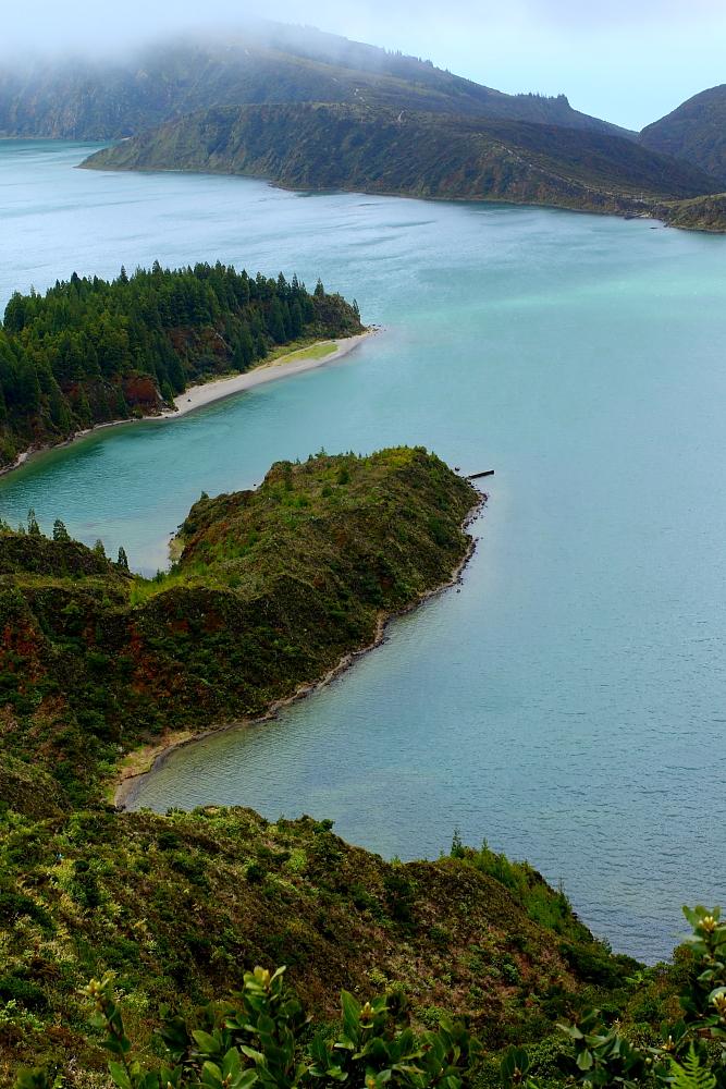 Lagoa do Fogo – trekking na Azorach