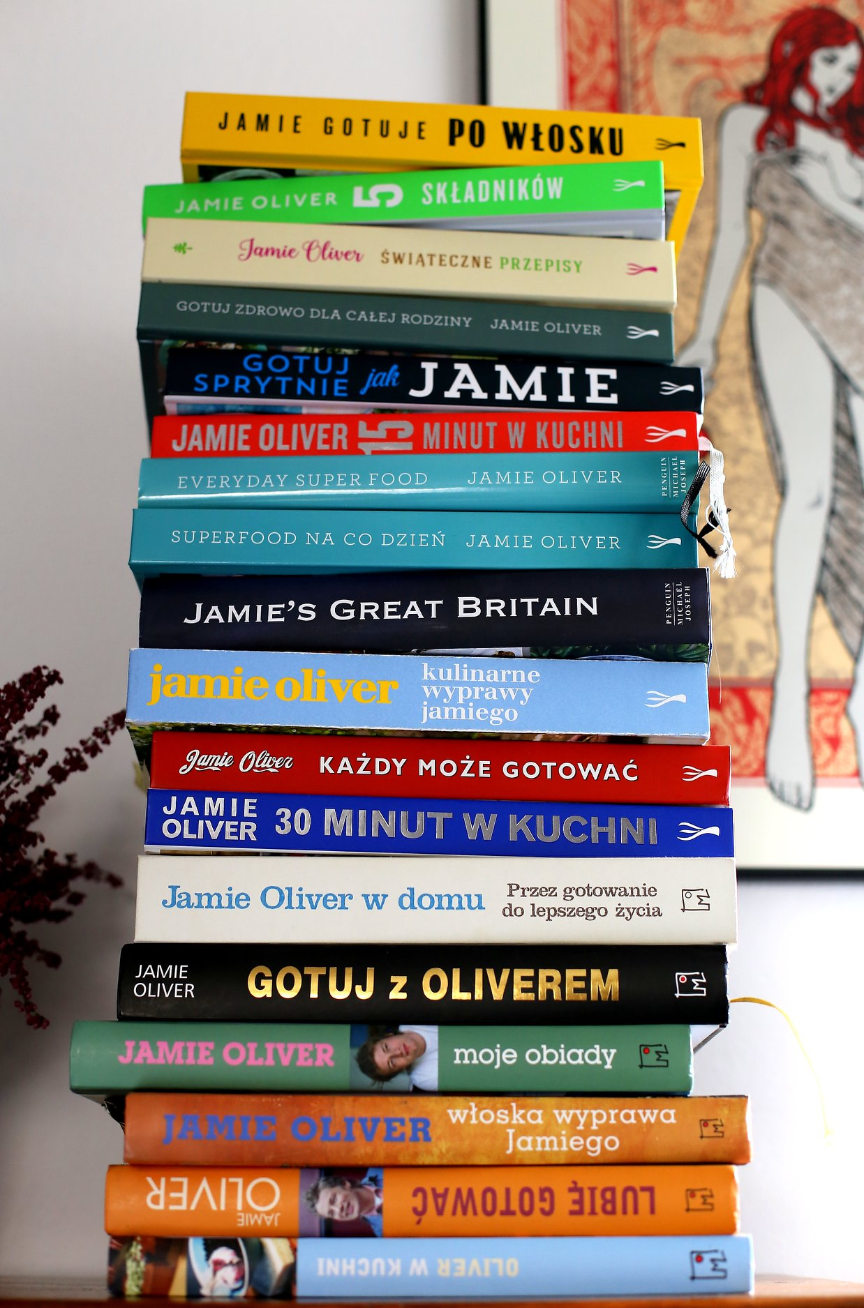 Jamie Oliver Wege