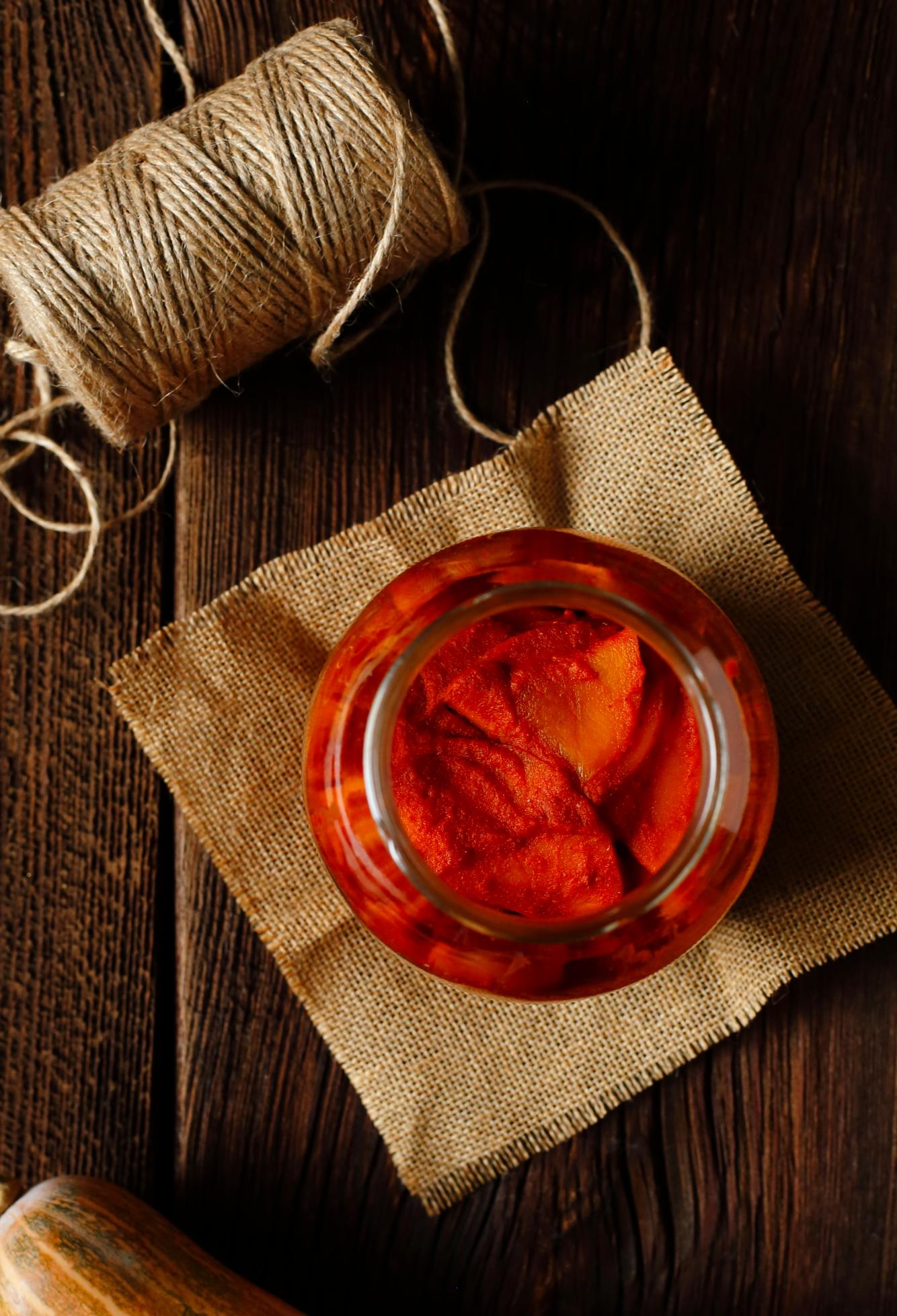 Kimchi z dyni - Hobak Kimchi