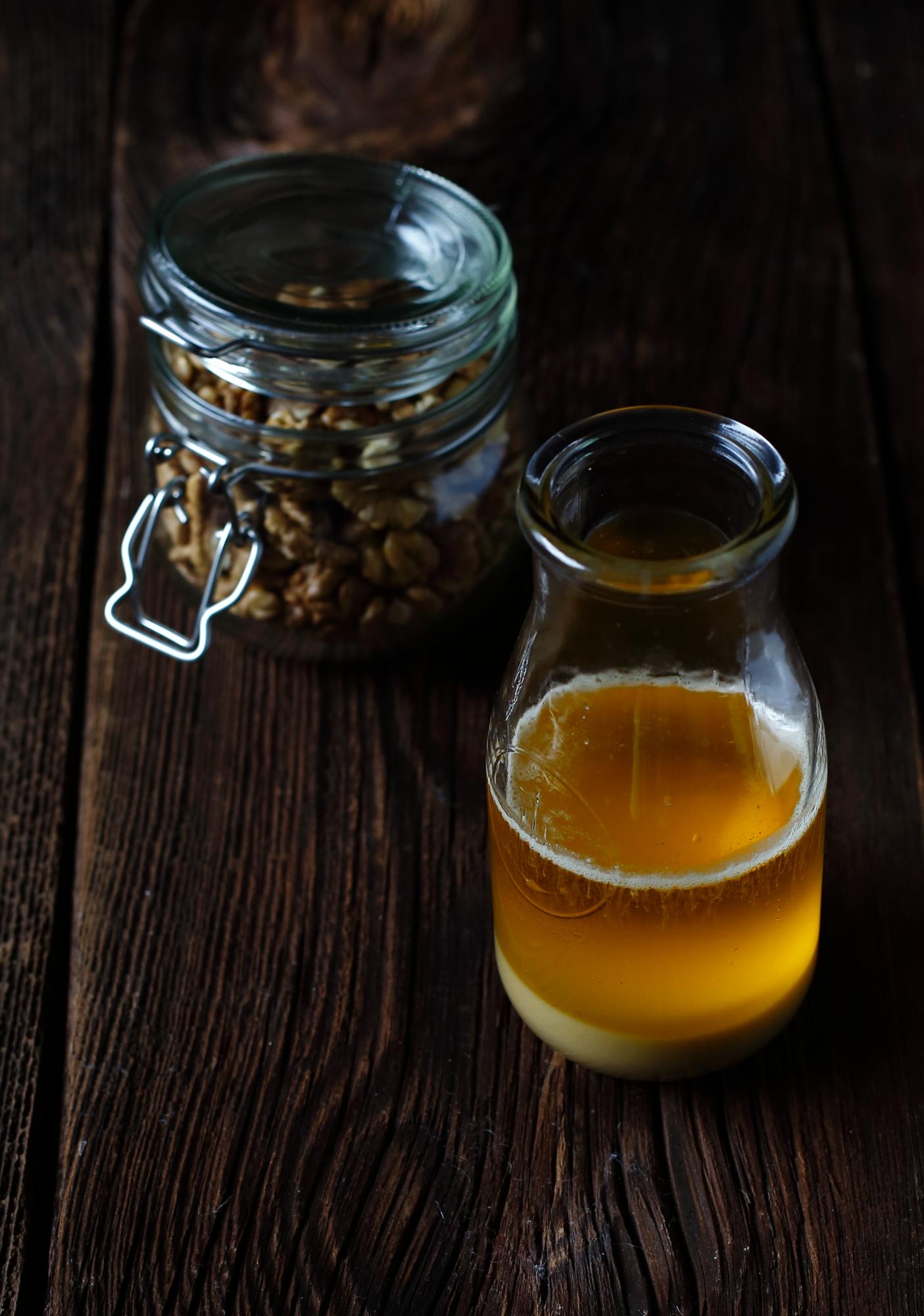 Labneh w oleju orzechowym