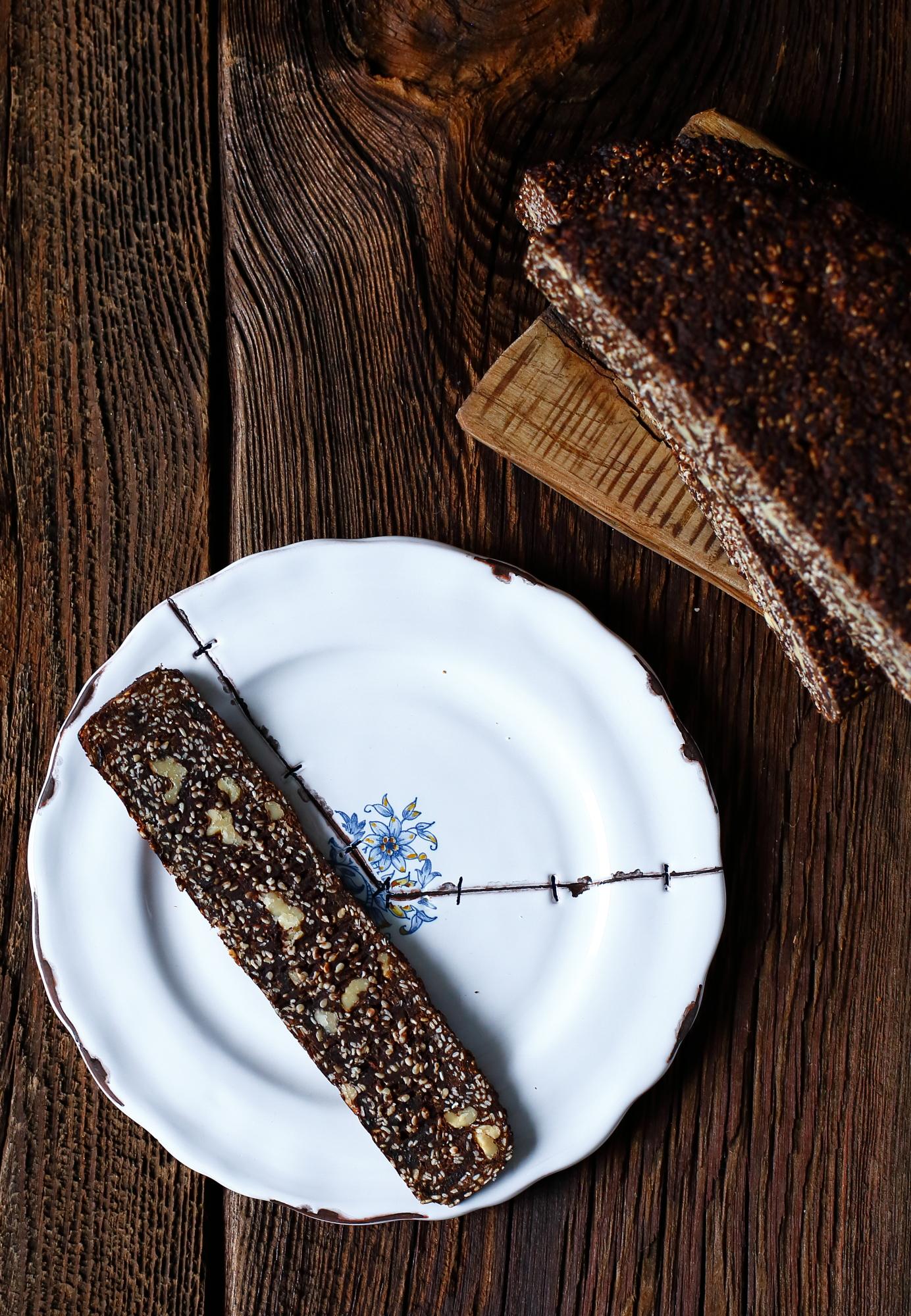 Panforte sezamowy