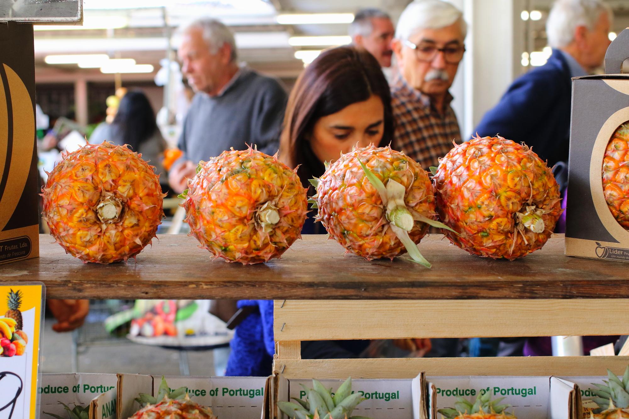 Targ w Ponta Delgada - Mercado da Graça