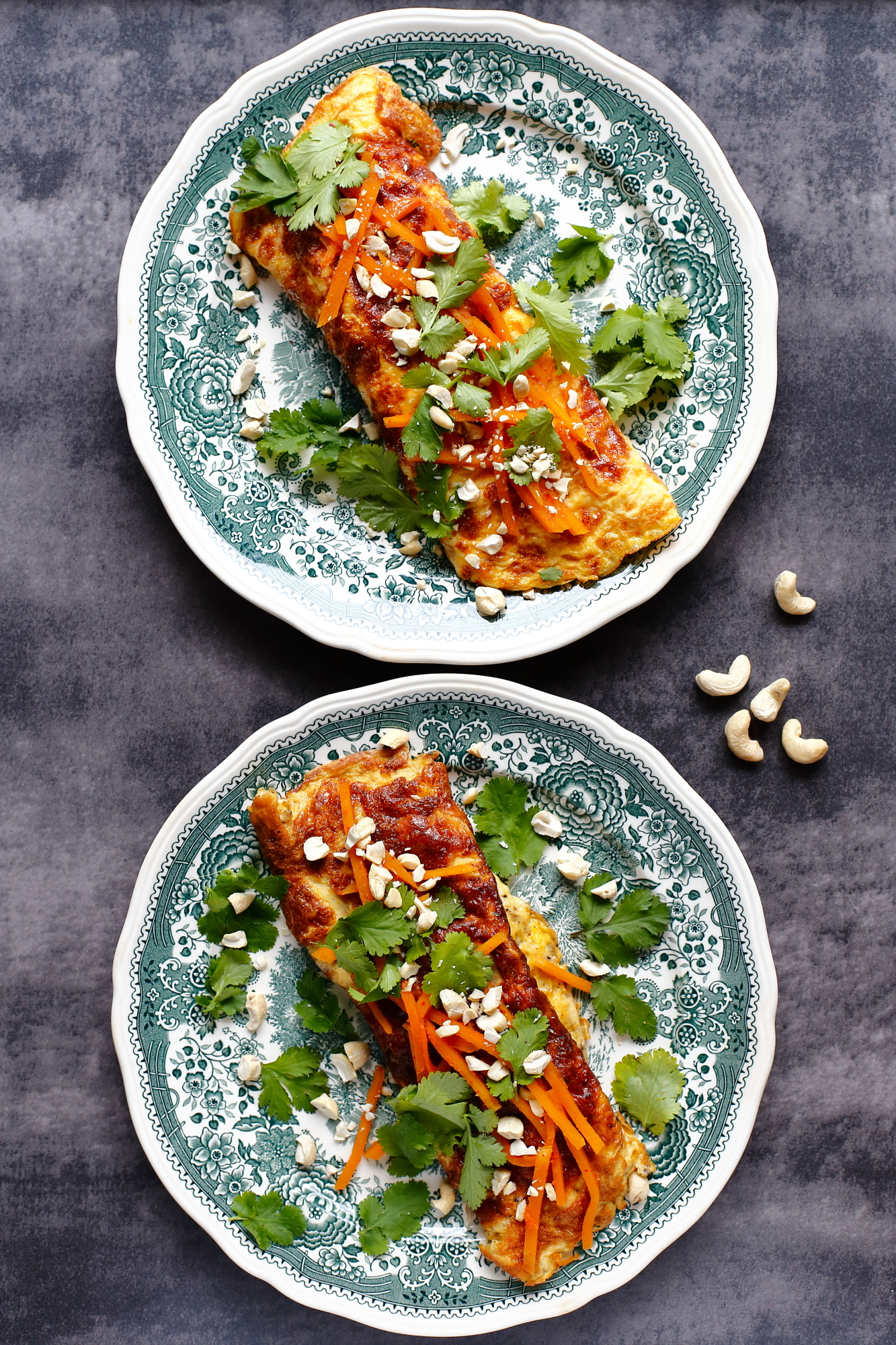 Omlet z kimchi