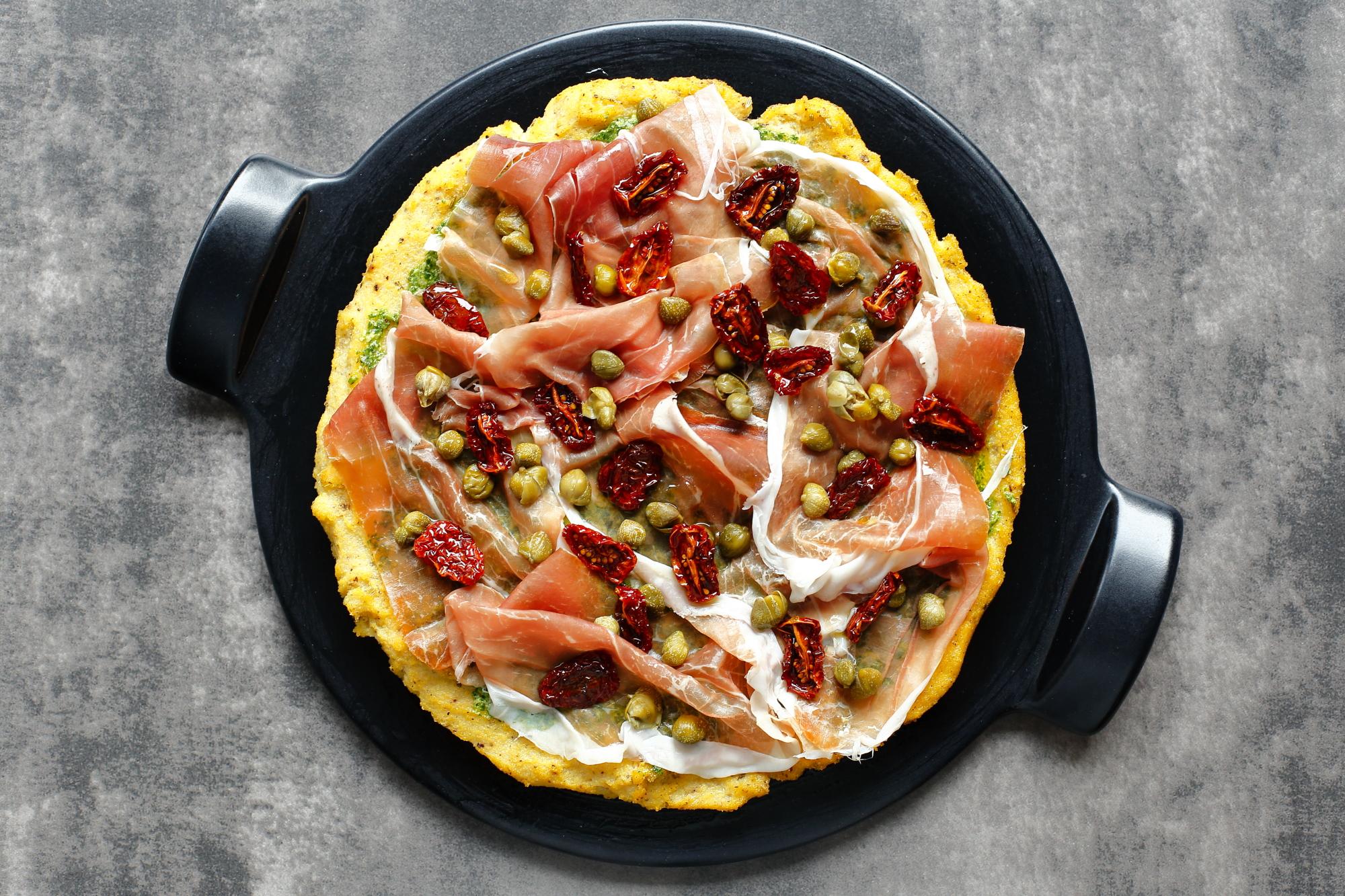 Pizza z polenty